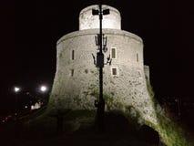 Замок на холме Стоковые Изображения