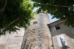 Замок на Gordes в Провансали, Франции Стоковые Изображения