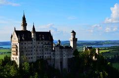 Замок Нойшванштайна, Бавария, Германия, 2014 Стоковые Изображения