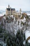 Замок Нойшванштайна в Мюнхен стоковое фото rf