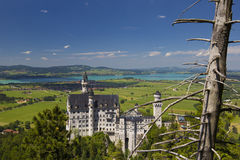 Замок Нойшванштайна - Германия Стоковые Изображения