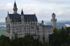 Замок Нойшванштайна, Дисней Стоковая Фотография RF