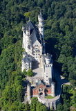 Замок Нойшванштайна Стоковое Изображение RF
