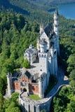 Замок Нойшванштайна Стоковая Фотография RF