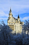 Замок Нойшванштайна Стоковое Фото
