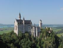 Замок Нойшванштайна Стоковое фото RF