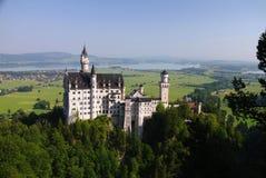 Замок Нойшванштайна, Bayern стоковое изображение rf