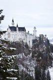 Замок Нойшванштайн в Германии Стоковые Изображения RF