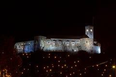 Замок ночи Стоковая Фотография