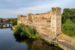 Замок Ньюарка в Англии, Великобритании стоковое изображение