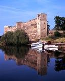 Замок Ньюарка стоковые фотографии rf