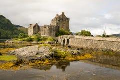 Замок 2-ое сентября 2015 Eilean Donan Стоковое Фото