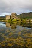 Замок 2-ое сентября 2015 Eilean Donan Стоковые Изображения RF