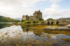Замок 2-ое сентября 2015 Eilean Donan Стоковая Фотография