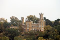Замок около Дрездена Стоковая Фотография RF