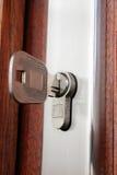 замок домашнего ключа Стоковое Изображение RF