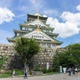 Замок Осака в Осака Японии стоковые изображения rf