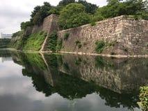 Замок Осака, Осака, Япония Стоковое фото RF