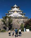 Замок Осака, Осака, Япония Стоковое Изображение RF