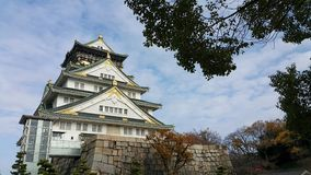 Замок Осака Япония Осака Стоковые Фото
