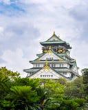 Замок Осака Стоковое фото RF