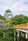 Замок Осака Стоковые Фотографии RF