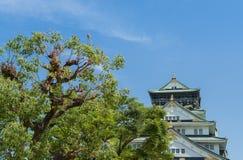 Замок Осака стоковые изображения rf