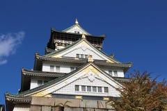 Замок Осаки Стоковое Изображение