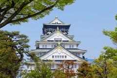 Замок Осаки Стоковые Фотографии RF