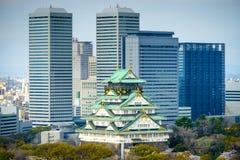 Замок Осаки Стоковое Фото