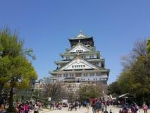 Замок Осаки Стоковые Изображения