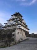 Замок Осаки Стоковое Изображение RF