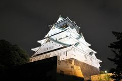 Замок Осаки osaka япония стоковое фото
