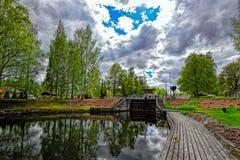 Замок доставки канала Vaaksy Стоковое фото RF