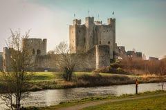Замок отделки графство Meath Ирландия стоковые фотографии rf