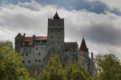 Замок отрубей (замок Дракула s) Стоковое Изображение RF