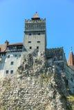 Замок отрубей - замок Дракула s Стоковое фото RF
