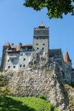 Замок отрубей - замок Дракула s Стоковое Изображение