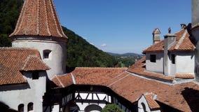Замок отрубей крыши Стоковые Фото