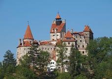 Замок отрубей около Brasov, Румынии Стоковые Фотографии RF