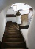 Замок отрубей, Румыния внутри лестниц Замок отрубей знает больше как замок Дракула Стоковые Фотографии RF