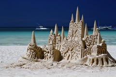 Замок от песка Стоковые Фото