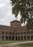 Замок Павии стоковое фото rf