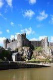 Замок Пембрука Стоковые Изображения