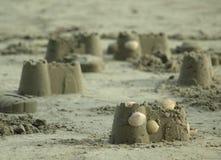 Замок песка Стоковые Изображения