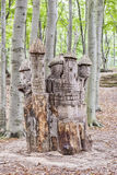 Замок пня дерева Sofiero Стоковое Фото