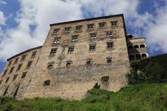 Замок Польша skala Pieskowa. Стоковое Изображение RF
