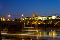 Замок Прага стоковые фотографии rf