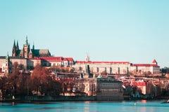 Замок Праги в Праге, чехии стоковые фотографии rf