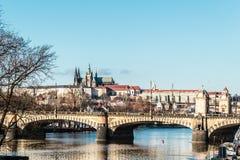 Замок Праги на Праге, чехии стоковое фото